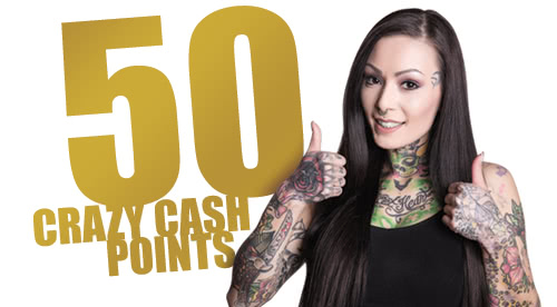 Crazy Cash Points